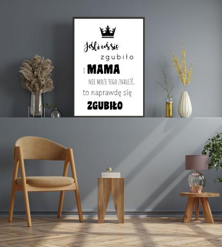 Plakat w ramie na Dzień Mamy 20306 - 1