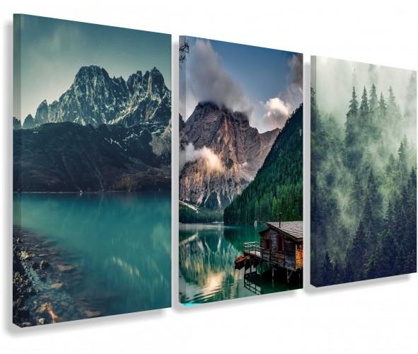 Obrazy na ścianę do salonu sypialni górskie krajobrazy 20171 - 1