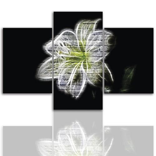 Tryptyk do salonu - Lilia kwiat 12238 - 1