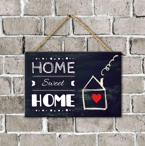Tabliczka drewniana  Home sweet home 30059 - 1