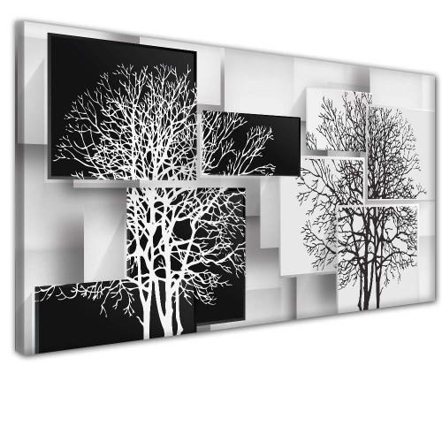 Obraz na ścianę do sypialni salonu drzewo 41385 - 1