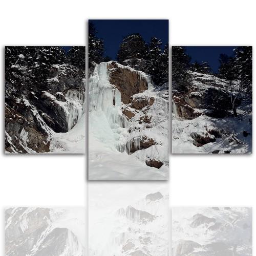 Tryptyk do salonu -  Pejzaż, góry, widok 12079 - 1