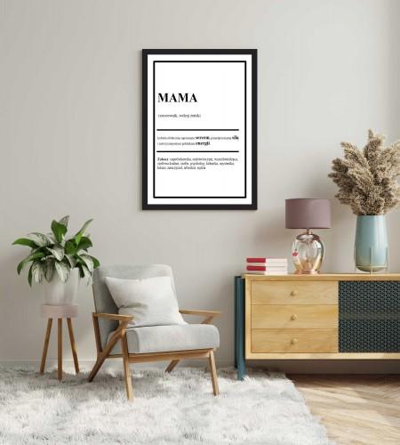 Plakat w ramie na Dzień Mamy 20307 - 1