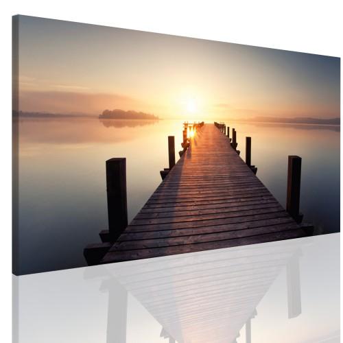 Obraz na ramie płótno canvas- Most 12382 - 1