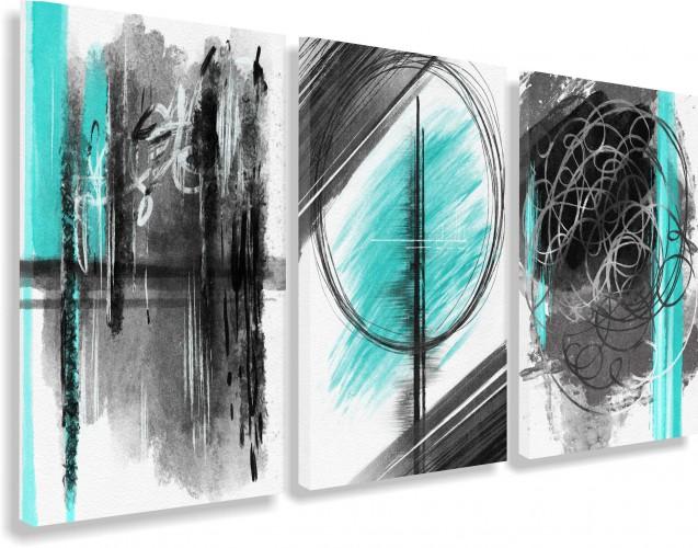 Obrazy na ścianę sypialni, salonu 20223 abstrakcja - 1