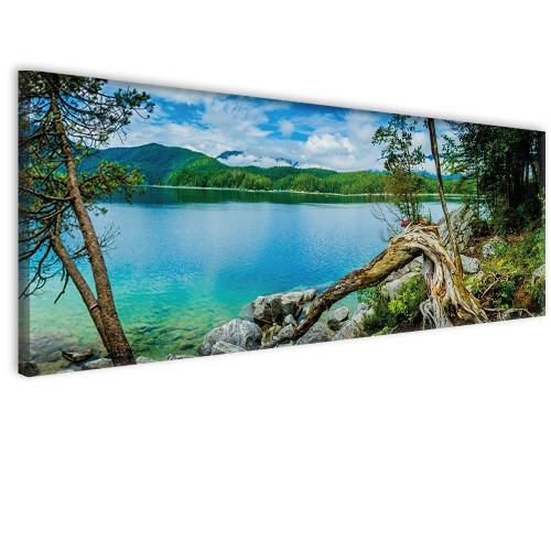 Obraz na ścianę do sypialni salonu niebiańska woda 41278 - 1