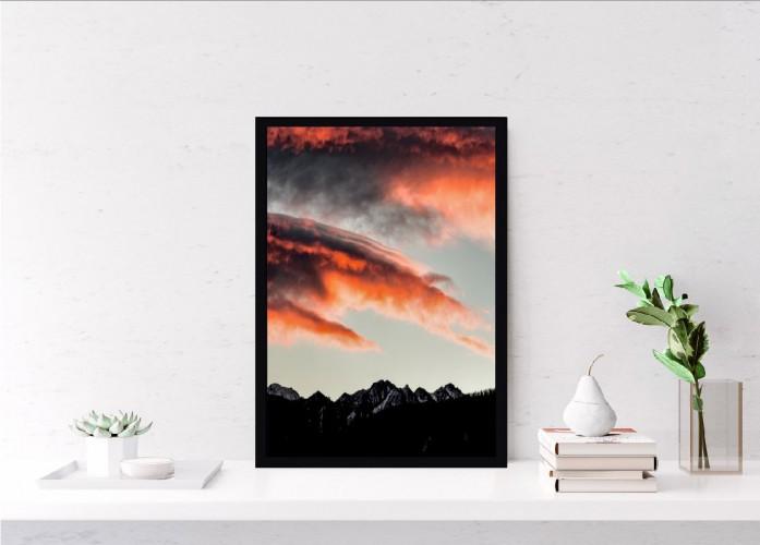Plakat niebo zachód słońca 61208 - 1