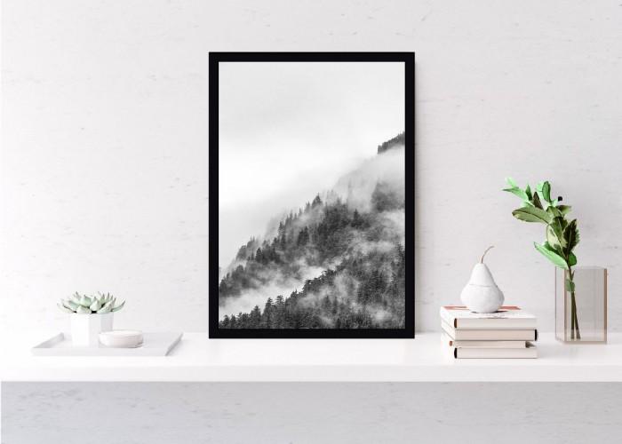 Plakat Mgła spowiła las 61115 - 1
