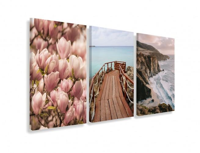 Obrazy na ścianę do salonu sypialni 19016 magnolia - 1