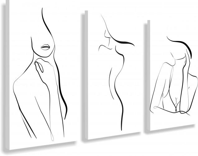 Obrazy na ścianę sypialni, salonu 20212 tajemnicza kobieta - 1
