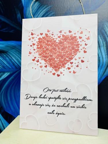 Tabliczka drewniana ozdobna prezent na Walentynki 60043 - 1