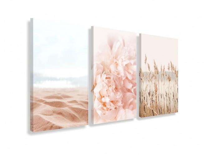 Obrazy na ścianę do salonu sypialni 19009 plaża jezioro morze - 1