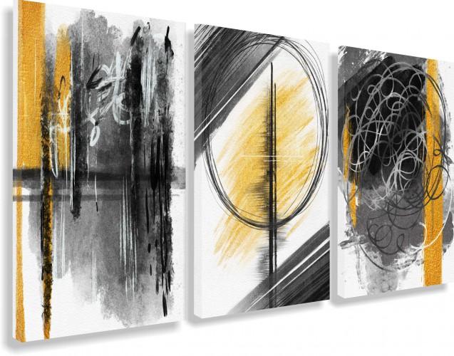 Obrazy na ścianę sypialni, salonu abstrakcja 20224 - 1