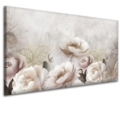 Obraz na ścianę do sypialni salonu zaczarowane kwiaty 41425 - 1