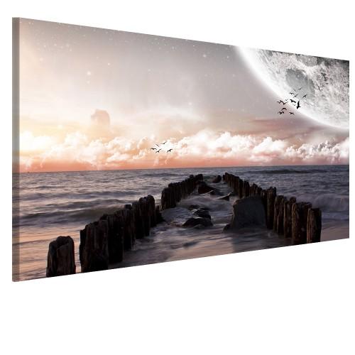 Obraz na ścianę do sypialni zaczarowane chmury  41451 - 1