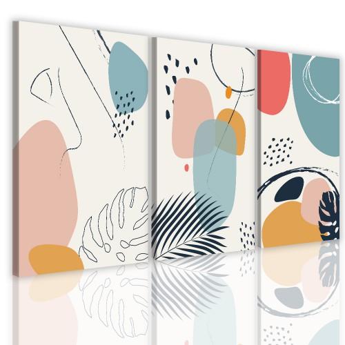 Obrazy na ścianę do salonu 41192 abstrakcja - 1