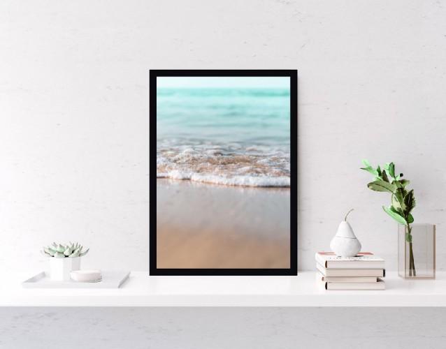 Plakat Morze Plaża Fale  61006 - 1