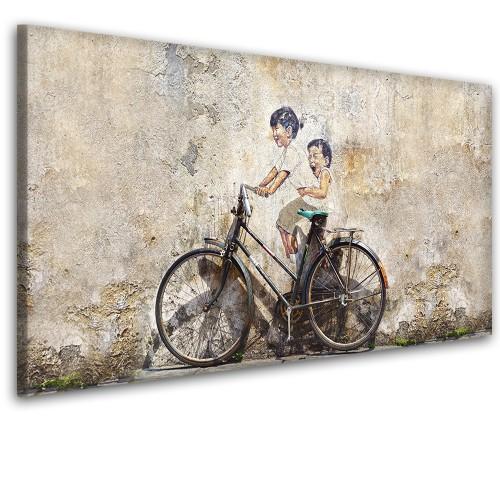 Obraz na ścianę do sypialni salonu rower 41439 - 1