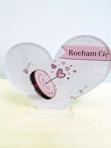 Statuetka serce Walentynki Dzień Zakochanych Miłość serce 6 - 1