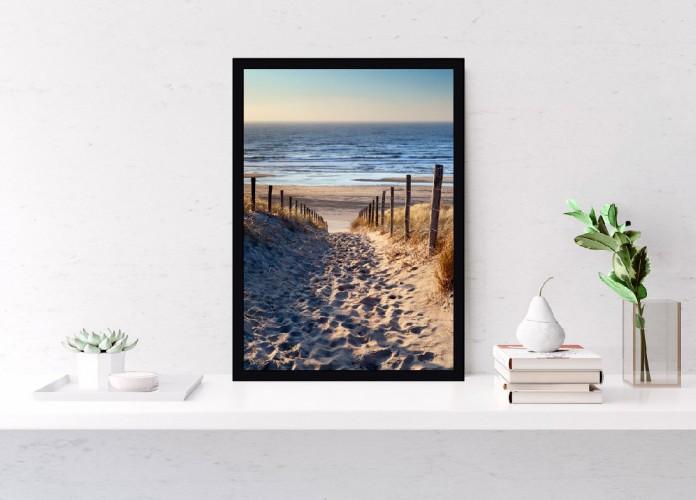Plakat Zejście na plażę 61094 - 1