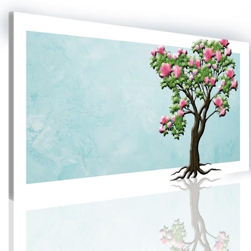 Obraz na ramie płótno canvas- obraz do sypialni drzewo 5142 - 1