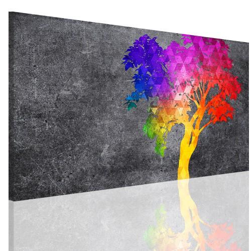 Obraz na ramie płótno canvas- obraz do sypialni drzewo, niebo 5144 - 1