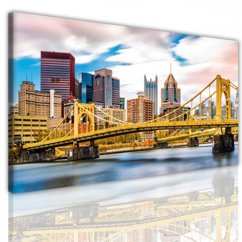 Obraz na ścianę canvas na ramie 15170 panorama most - 1