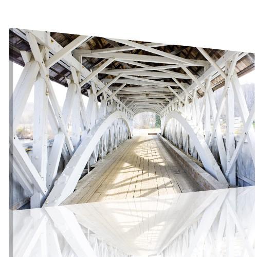 Obraz na ramie 12409 stary most  płótno canvas - 1