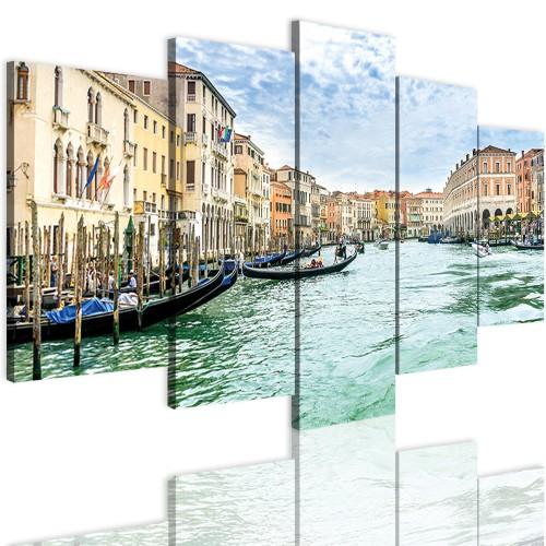 Obrazy 5 częściowe- Miasto, Wenecja 12355 - 1