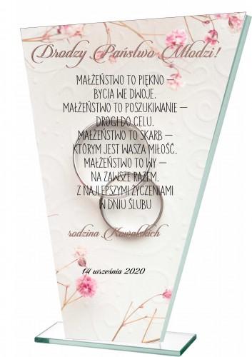 Statuetka życzenia dla nowożeńców ślub 20609 - 1
