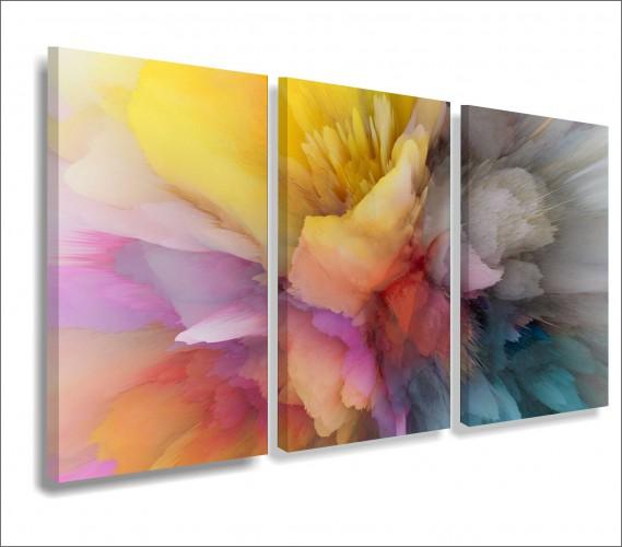 Obrazy na ścianę do salonu sypialni abstrakcja, akwarela 20148 - 1