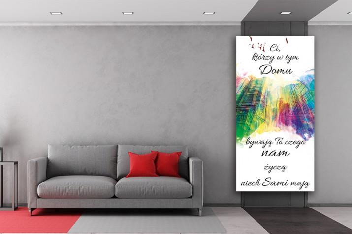 Obraz na ramie płótno canvas cytat- 50 - 1