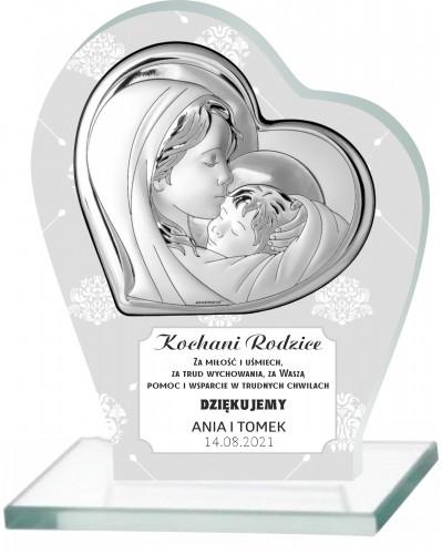 Statuetka podziękowanie dla rodziców ślub 66031 - 1