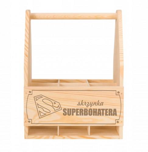 Skrzynka drewniana na piwo dla Superbohatera - 1