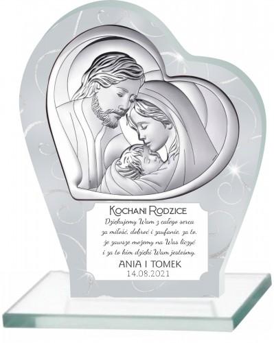 Statuetka podziękowanie dla rodziców ślub 66026 - 1