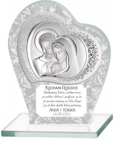 Statuetka podziękowanie dla rodziców ślub 66034 - 1