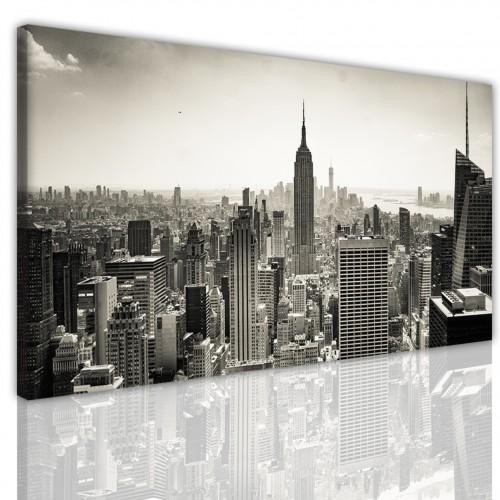 Obraz na ścianę canvas na ramie 15169 panorama Nowy Jork - 1