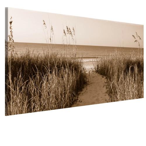 Obraz na ścianę do sypialni droga nad morze 41450 - 1